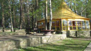 Клязьминское водохранилище шатер